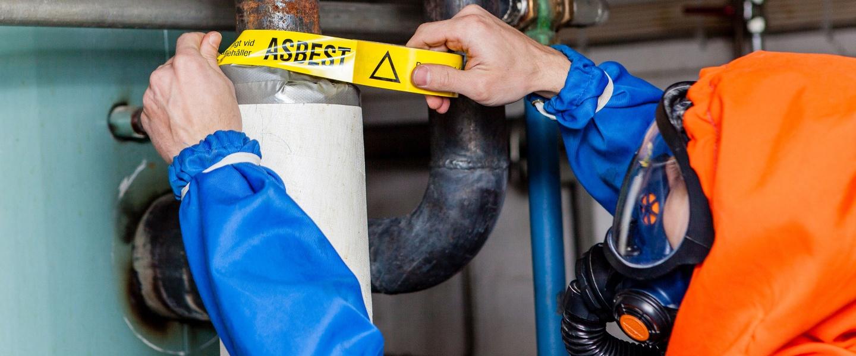 Rivning & Sanering av asbest på tak i Stockholm